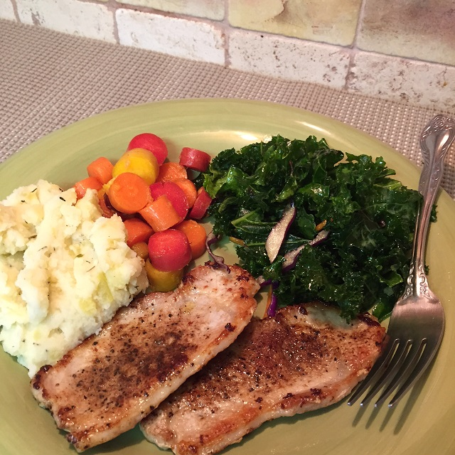 Preparing a Natural All Organic Meal - footer image