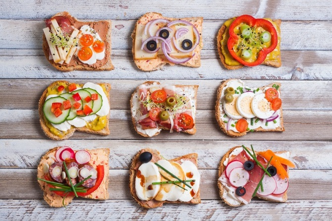 Some Good Examples of Healthy Mouthwatering Sandwiches