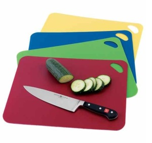 Colored Flexible Cutting Boards