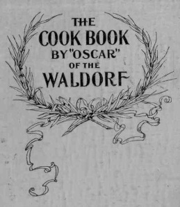 cookbook of the waldorf