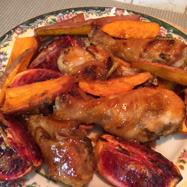 Ginger Orange Chipotle Chicken