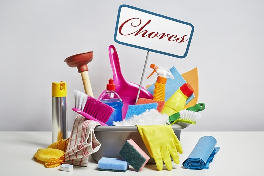 Good For Your Health Household Chores Inside and Out