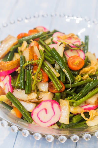 Hawaiian Fern Salad