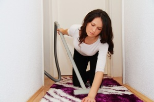 vacuuming burns calories