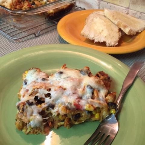 Gluten Free BBQ Chicken Lasagna
