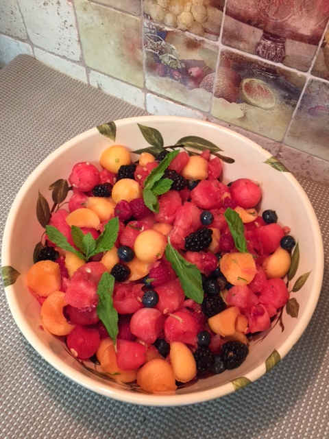Melon Berry Fruit Salad