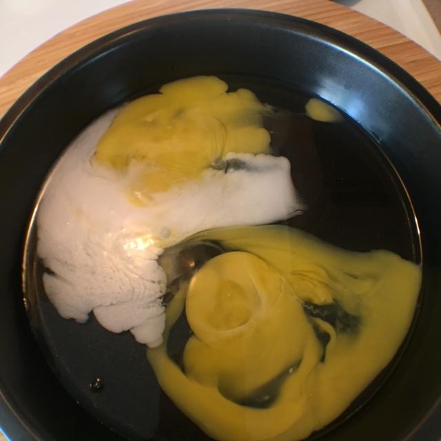 eggs and coconut milk