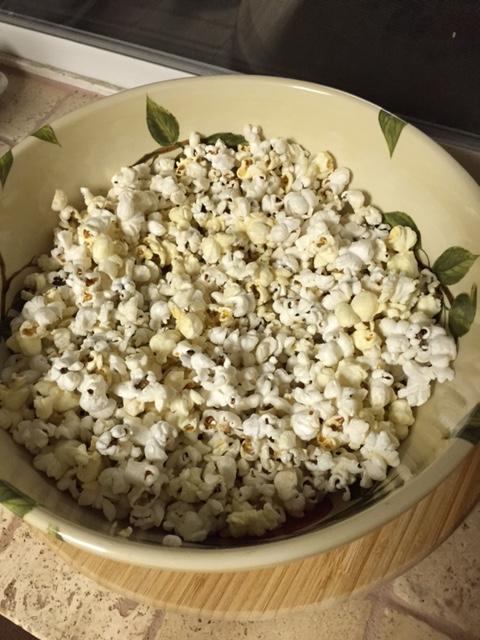 Organic Coconut Popcorn