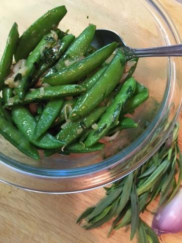 Sugar Snap Peas with Tarragon