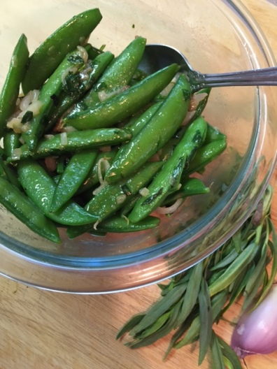Sugar Snap Peas with Tarragon