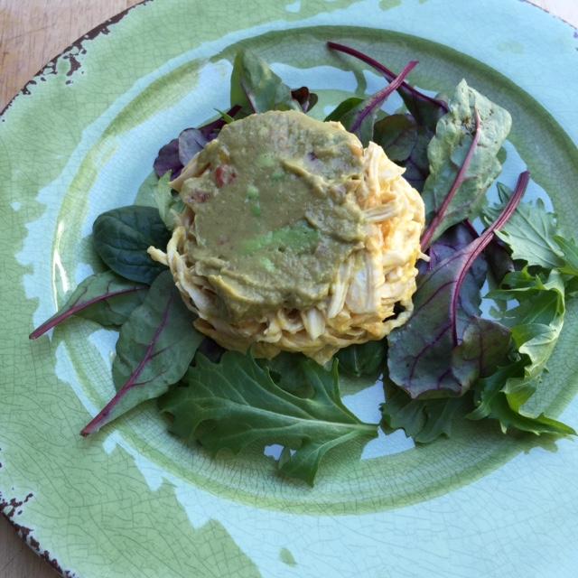 Mango Guacamole Chicken Salad