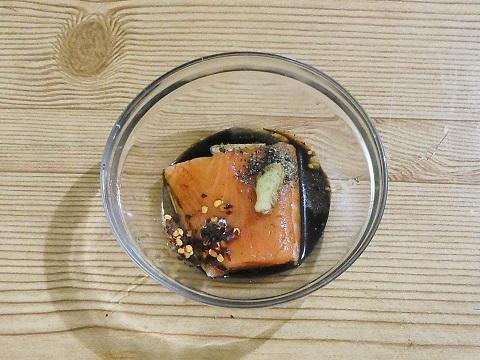 marinating coconut  Salmon