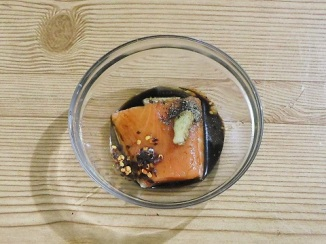 marinating coconut  Salmon