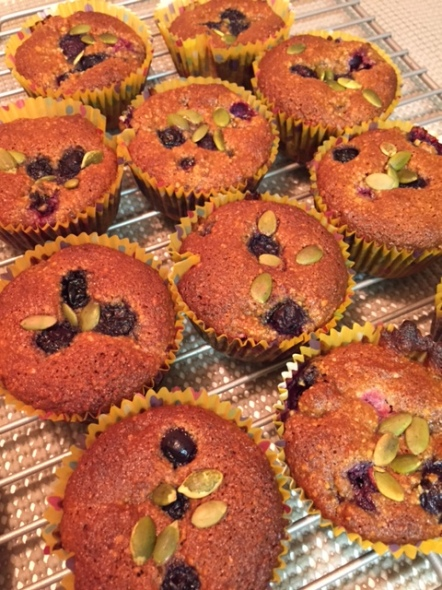 Blueberry Muffins Paleo Style