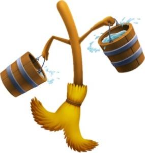 extending life of broom
