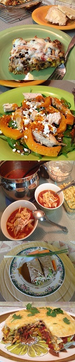 Recipe ideas for Turkry day left overs