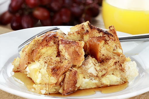 National Maple Syrup Day - Baked French Toast and Cream Cheese Casserole