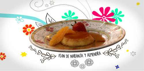 Orange and Almond Flan by Patis Mexican Table