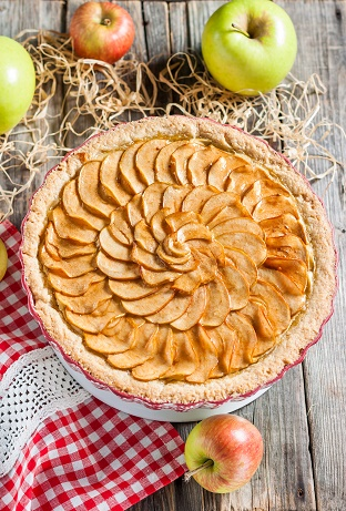 Cottage Cheese Apple Pie