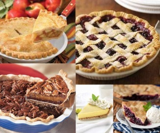 collage of fruit pies - National Pie Day