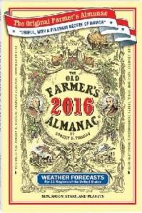 Old Farmers 2016 Almanac