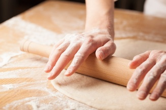 Hand, apron, flour - Alternative Ingredients For Making Crusts
