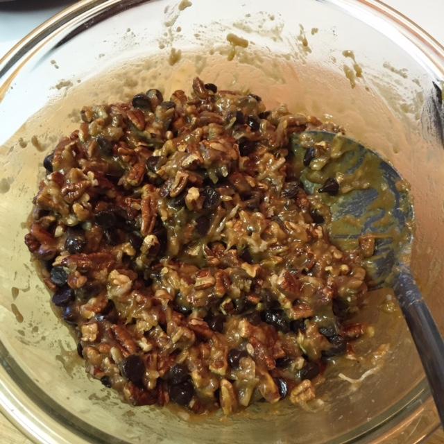 batter for Gluten Free Iron Skillet Pecan Coconut Cake