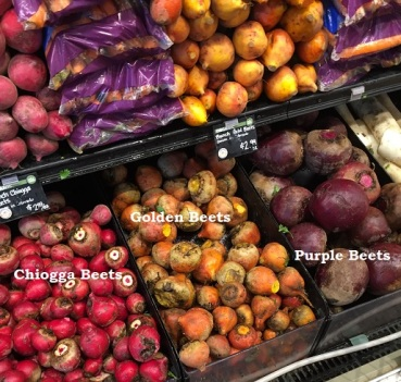 beets at the Whole Foods Market
