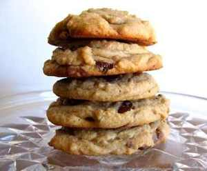 soft and chewy whole grain peanut butter cookie