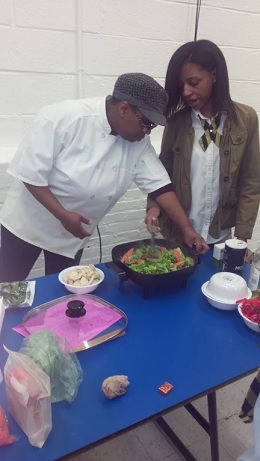 Keisha - The Mobile Cooking Teacher
