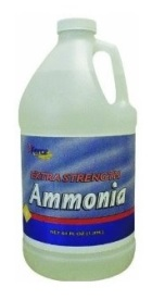 ammonia - household cleaners
