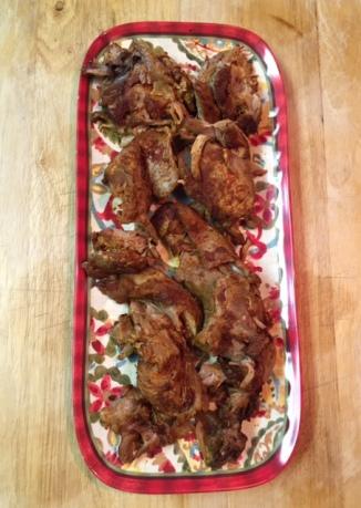 Birria de Borrego on a serving platter