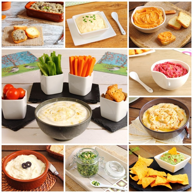 Condiments - Sauces - and Dips - Oh My!