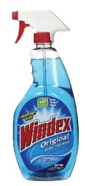 windex - household cleaners