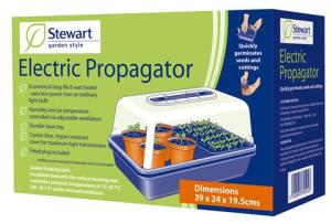 large heated propagator