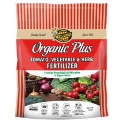 Organic fertilizer for tomatoes
