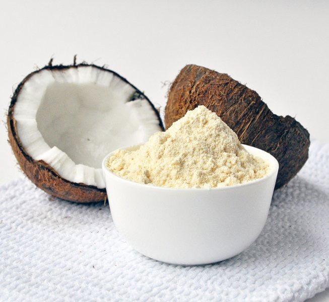 Coconut flour wheat free alternative