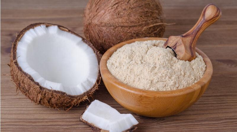 Coconut flour gluten-free baking
