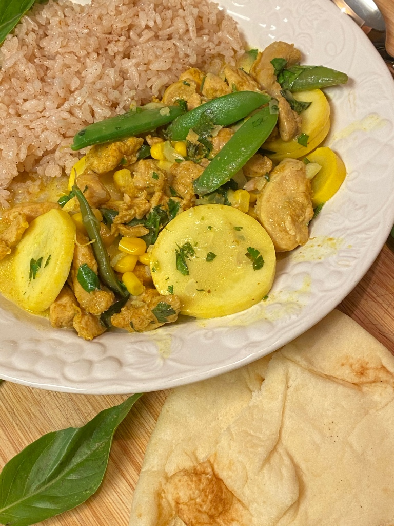 Coconut Chicken Curry with Vegetables