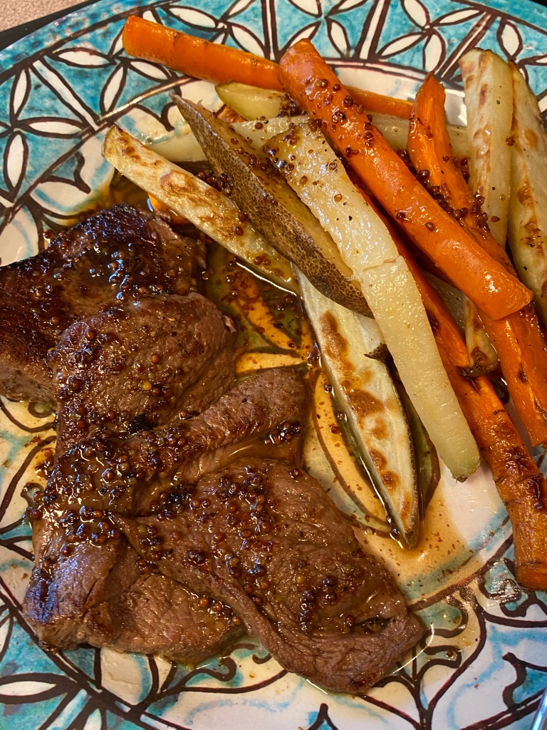 Ranch Steak with fries