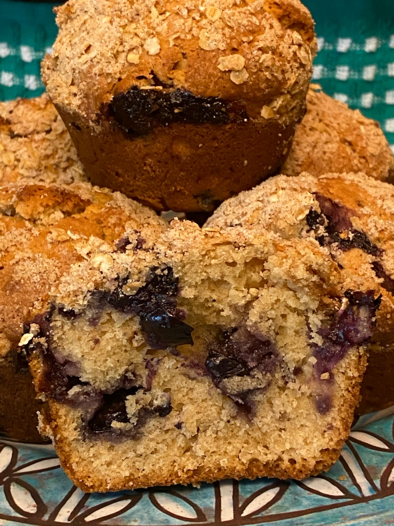 Blueberry Maple Cinnamon Muffins